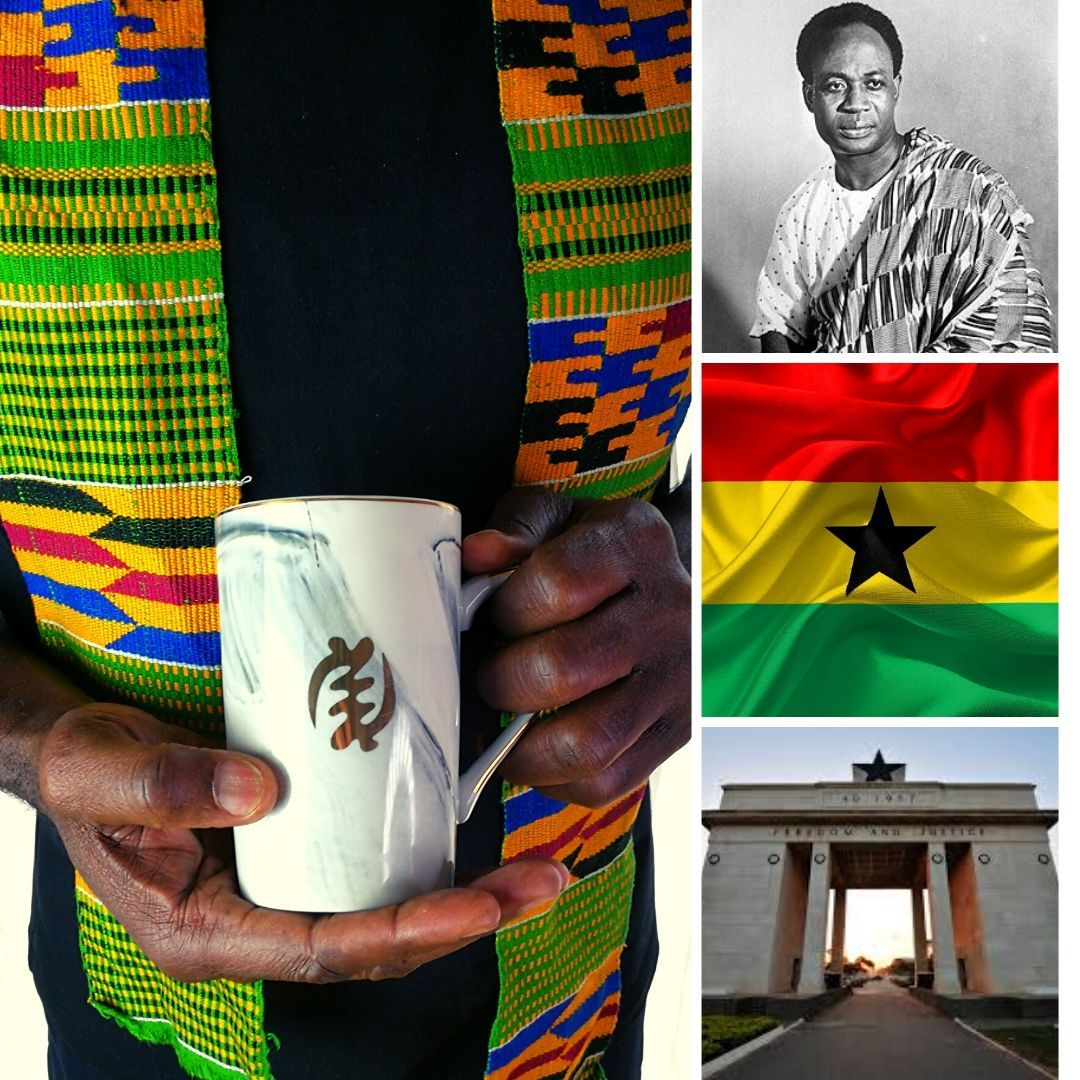 Celebrating the Ghana Independence Day with Gye Nyame and the History of Kwame Nkrumah