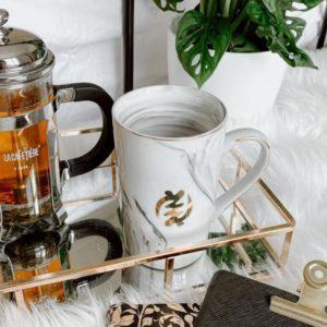 Mafeah African Tableware Gye Nyame Adinkra Mug