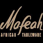 Mafeah African Tableware Logo